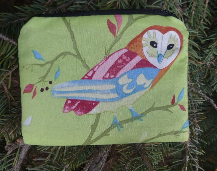 Watching Owls Coin Purse, The Raven