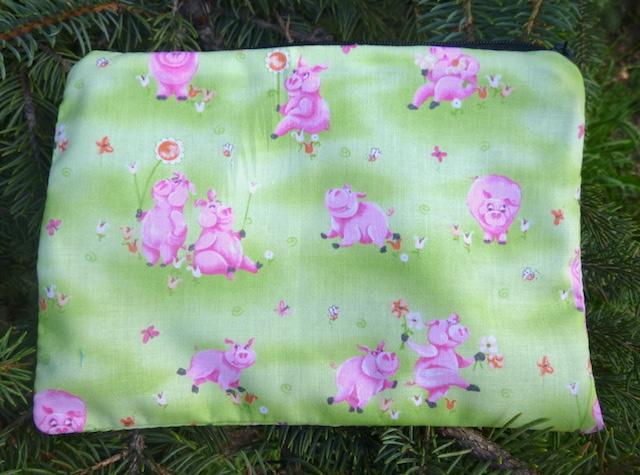 Piggy Pals zippered bag, The Scooter