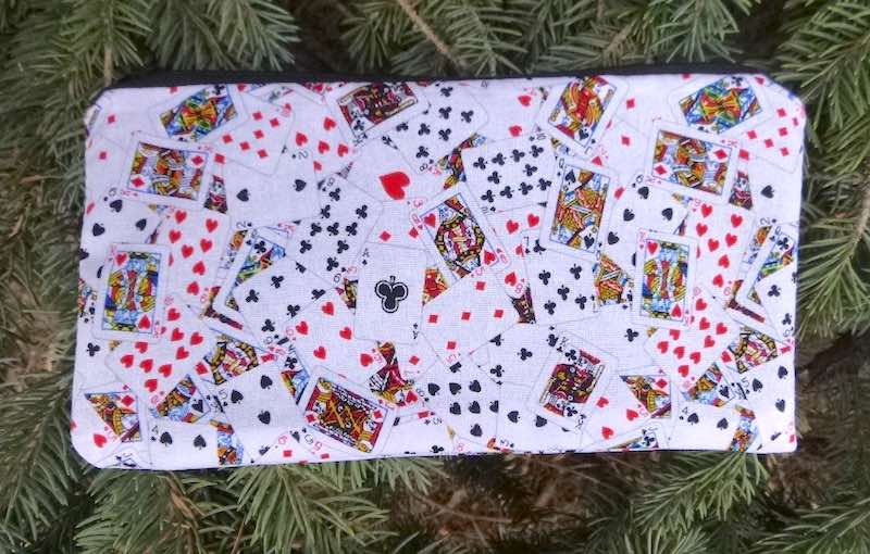 Playing Cards Deep Scribe pen and pencil case