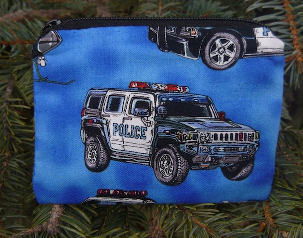 Police Vehicles Coin Purse, The Raven