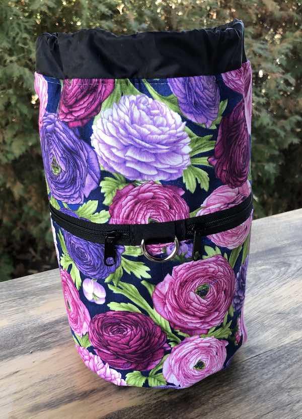 Ranunculus Kipster Knitting Project Bag