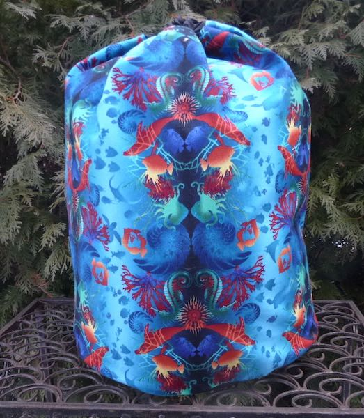 Return to Atlantis Alpaca Large Knitting Bag