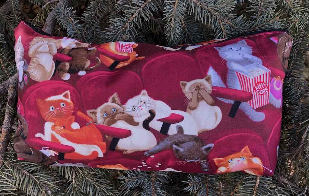 Scaredy Cats Large Zini Flat Bottom Bag