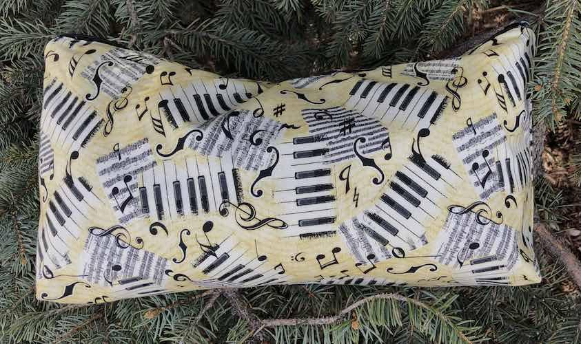Scattered Music Large Zini Flat Bottom Bag