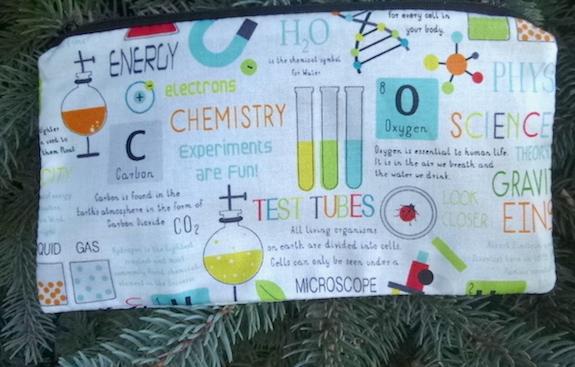 Science Class Deep Scribe pen and pencil case