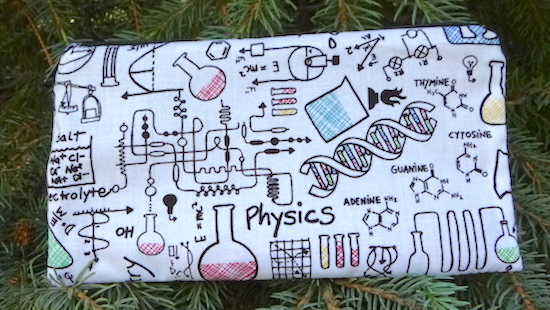 Science Lab Deep Scribe pen and pencil case
