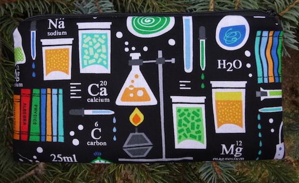 Science Deep Scribe pen and pencil case