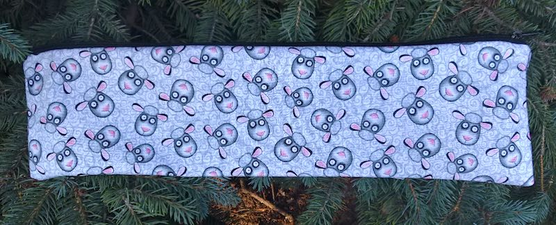 Sheep Tangle Long Knitting Needle Pouch, The Stitch