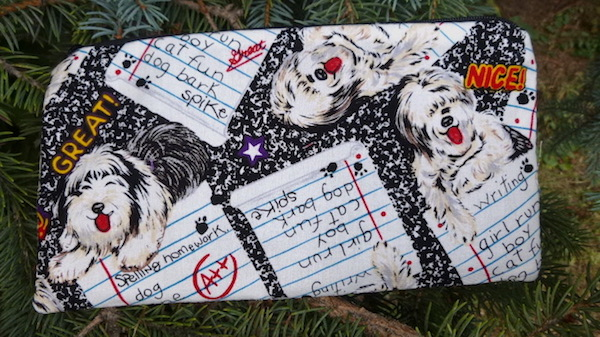 Sheepdogs Deep Scribe pen and pencil case-CLEARANCE