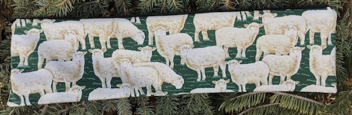 Curious Sheep Long Knitting Needle Pouch, The Stitch