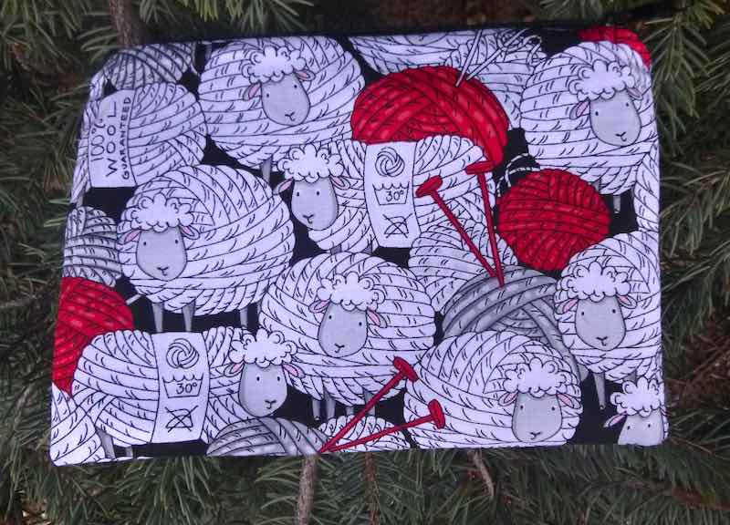 Skeins of Sheep zippered bag, The Scooter
