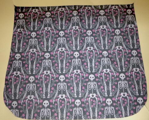 Skeleton Love Pick your Size Morphin Messenger Bag Flap