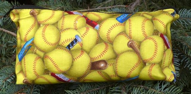 Softball flat bottom bag, The Zini
