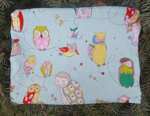 Spotted Owls Slide Mahjongg card and coin purse-CLEARANCE