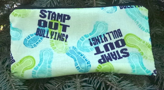 Stamp Out Bullying Deep Scribe pen and pencil case-CLEARANCE