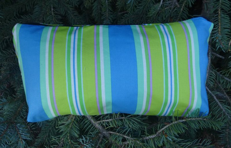 Sharp Stripe Large Zini Flat Bottom Bag
