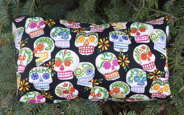 Sugar Skulls Large Zini Flat Bottom Bag