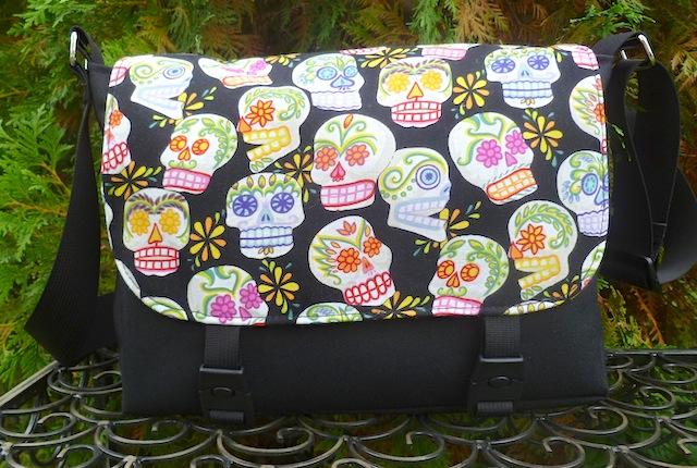Sugar Skulls Zeldina Mini Messenger Bag