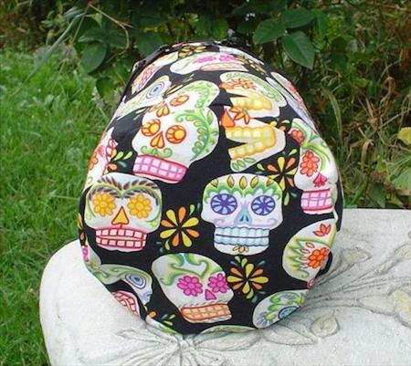 Sugar Skulls Kipster Knitting Project Bag