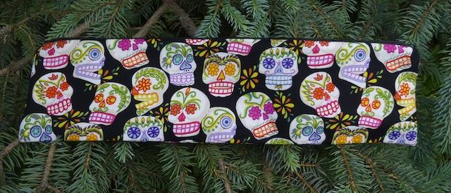 Sugar Skulls Long Knitting Needle Pouch, The Stitch