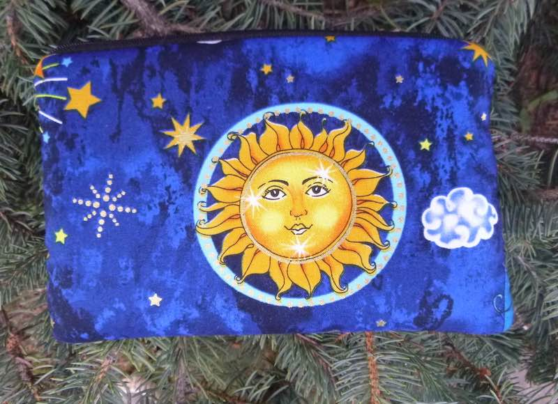 Suns padded case for essential oils, the Essence