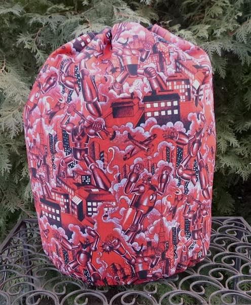 Tokyo Bot Alpaca Large Knitting Bag- CLEARANCE