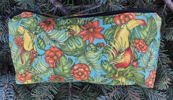 Toucans flat bottom bag, The Zini