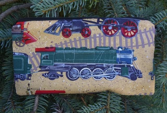 Trains Deep Scribe pen and pencil case
