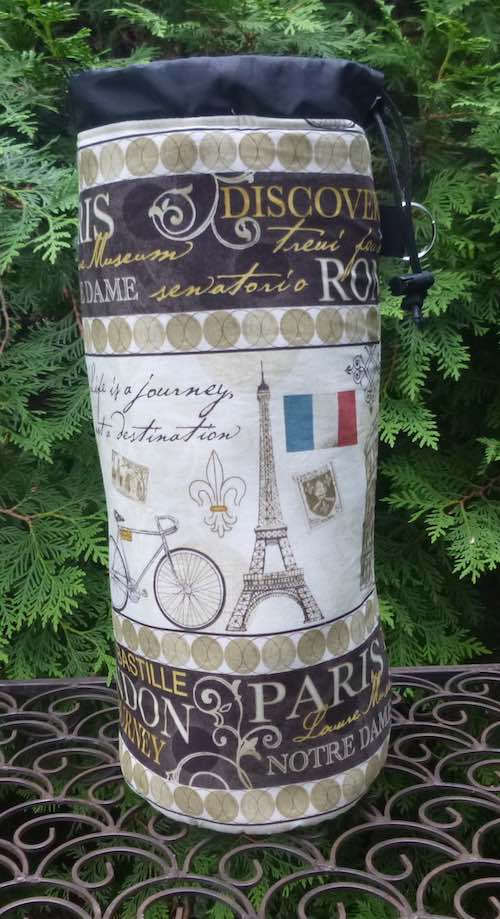 Travels in Europe Spinny Drop Spindle Case