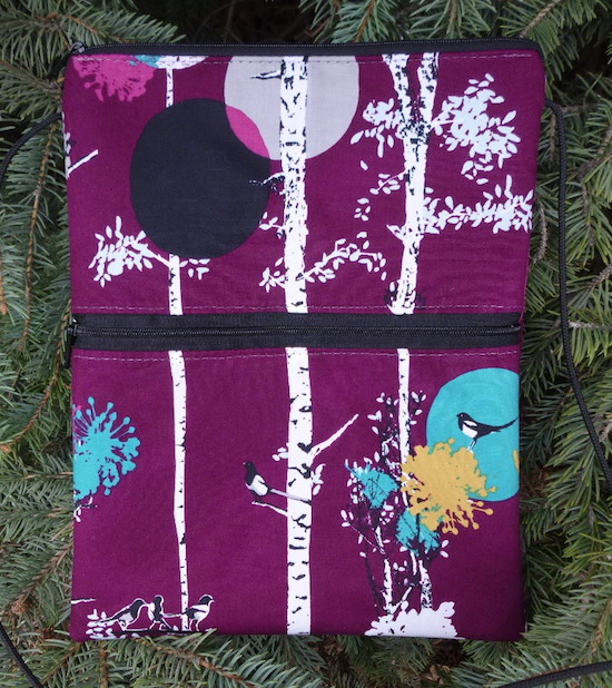 Treetops Dove purse on a string