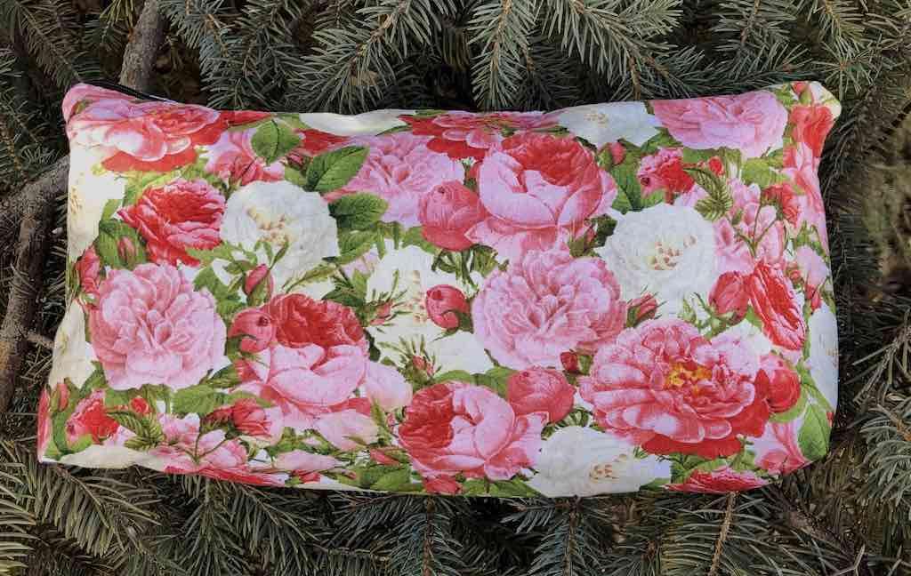 Vintage Roses Large Zini Flat Bottom Bag