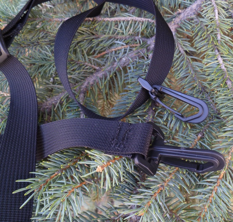 "1"" wide removable replacement shoulder strap"