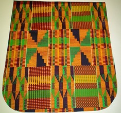 African Artistry Pick your Size Morphin Messenger Bag Flap