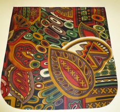 African Vibes Pick your Size Morphin Messenger Bag Flap