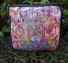 Aztec Batik Hipster Bag, The Otter