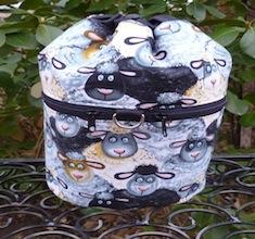 Barnyard Sheep Kipster Knitting Project Bag