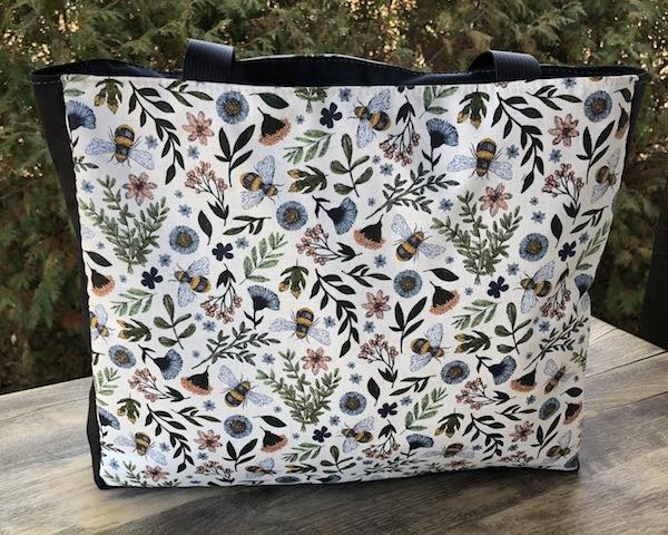 Bee Kind Medium Fleur Tote, wide