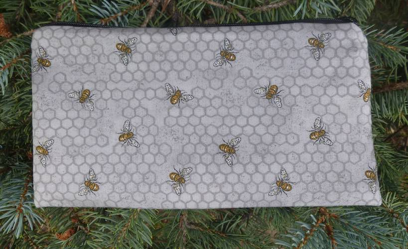 Bees Deep Scribe pen and pencil case