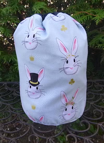 The Bunnies SueBee Round Drawstring Bag