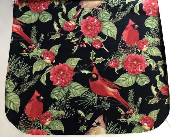 Cardinal Beauty Pick your Size Morphin Messenger Bag Flap