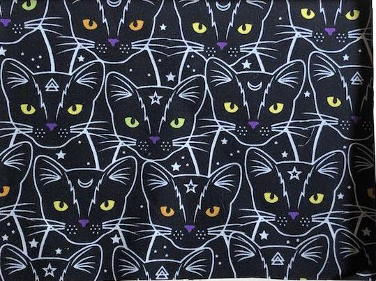 Celestial Cats Adjustable Face Mask - MADE TO ORDER