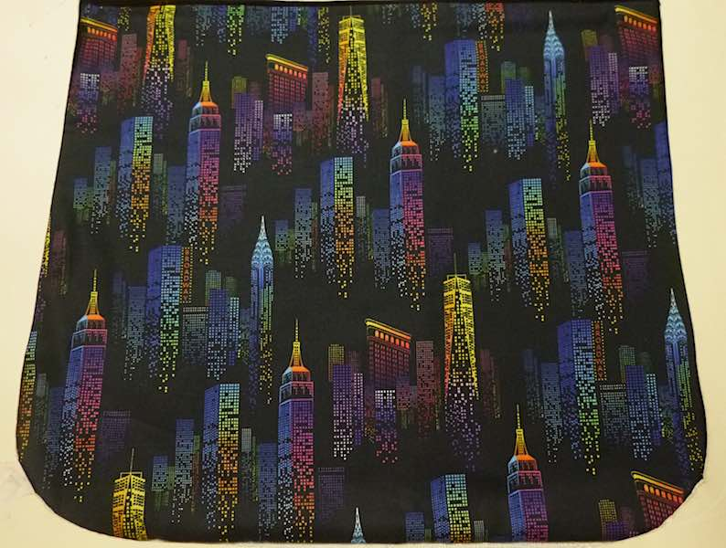 City Night Lights Pick your Size Morphin Messenger Bag Flap