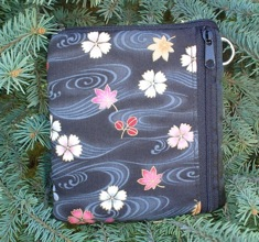 Cherry Blossom and Leaves ABC Padded Camera Bag-CLEARANCE