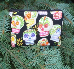 Day of the Dead Tarquin padded bag for iPod, iPhone-CLEARANCE
