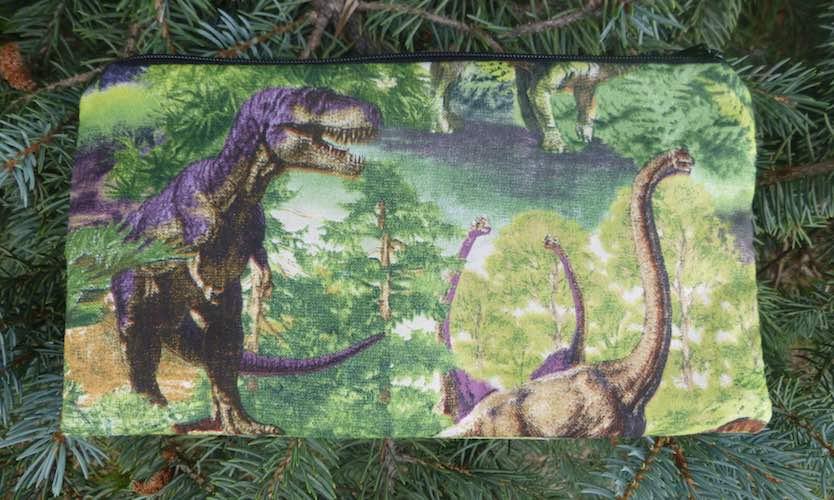 Dinosaur World Deep Scribe pen and pencil case