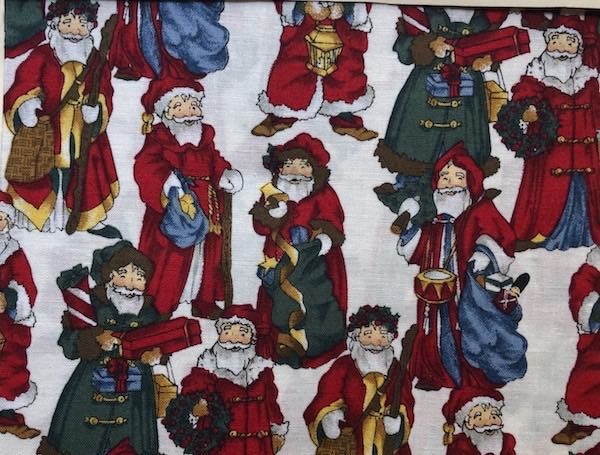 European Santas Adjustable Face Mask - MADE TO ORDER