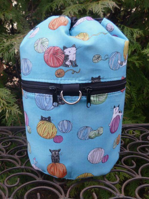 Fair Isle Kipster Knitting Project Bag