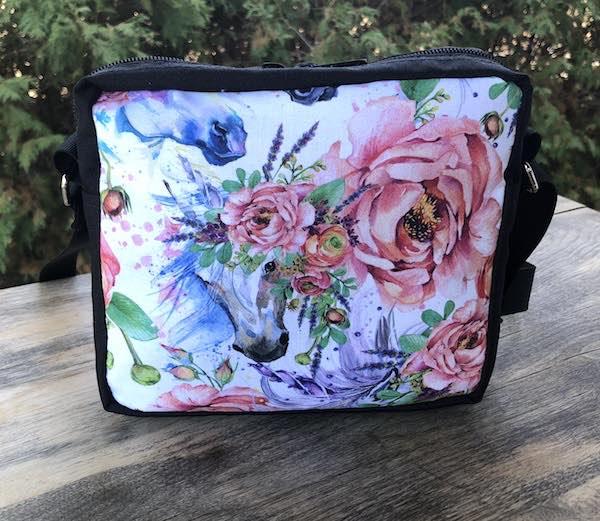 Flowery Unicorns Hipster Shoulder Bag, The Otter