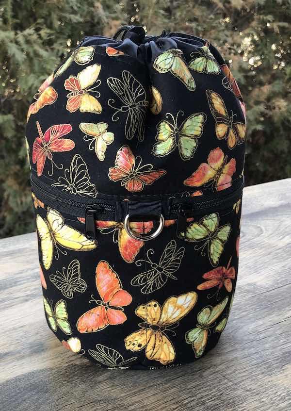 Fluttering Kipster Knitting Project Bag