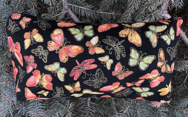 Fluttering Large Zini Flat Bottom Bag